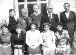 Коллектив редакции газеты в 70 годы
