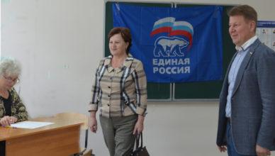 А.В.Ситников в Островском районе в день предварительного голосования